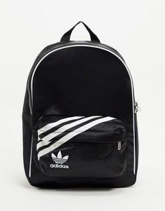 Черный маленький рюкзак adidas Originals