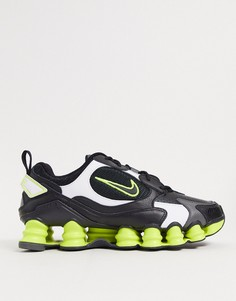 Черно-желтые кроссовки Nike Shox TL Nova-Черный