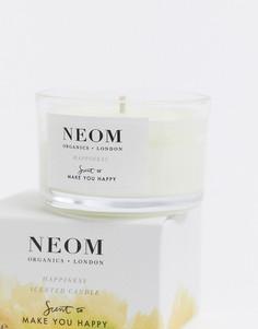 Ароматизированная свеча NeomHappiness(дорожный формат)-Бесцветный