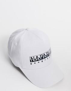 Белая кепка Napapijri-Белый