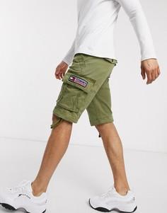 Оливковые шорты-карго Tommy Jeans-Зеленый