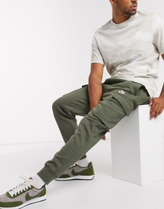 Джоггеры-карго цвета хаки Nike Club-Зеленый