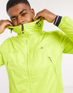 Легкая куртка с капюшоном Tommy Hilfiger-Желтый