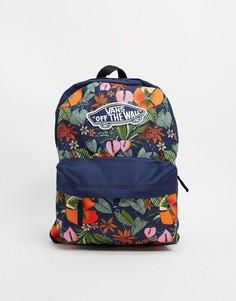 Рюкзак с разноцветным тропическим принтом Vans Realm-Мульти