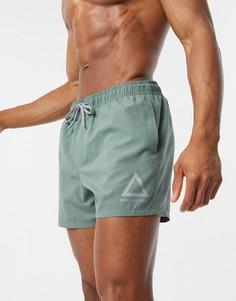 Короткие шорты для плаванияASOS DESIGN-Синий