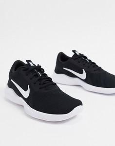 Черно-белые кроссовки Nike Running Flex Experience RN9-Черный