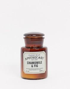 Свеча с ароматом ромашки и ванили APOTHECARY-Бесцветный Paddywax