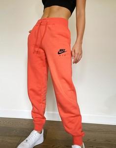 Джоггеры кораллового цвета Nike Air-Оранжевый