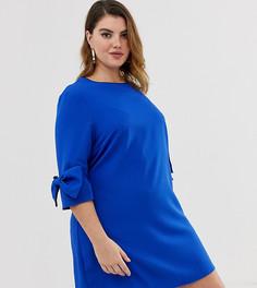 Платье с бантами Unique21 Hero-Синий