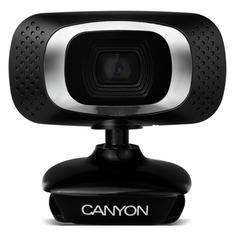 Web-камера CANYON CNE-CWC3N, черный и серебристый