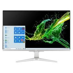 "Моноблок ACER Aspire C27-962, 27"", Intel Core i5 1035G1, 8ГБ, 512ГБ SSD, NVIDIA GeForce MX130 - 2048 Мб, Windows 10 Home, серебристый [dq.bdper.001]"