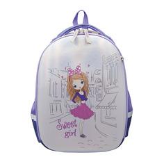 Школьные ранцы, рюкзаки, сумки Рюкзак Silwerhof 830884 фиолетовый/перламутровый