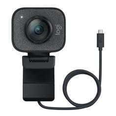 Web-камера LOGITECH StreamCam GRAPHITE, черный и серый [960-001281]
