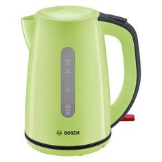 Чайник электрический Bosch TWK7506, 2200Вт, зеленый и черный