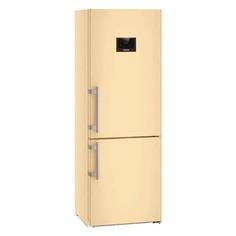 Холодильник LIEBHERR CBNbe 5778, двухкамерный, бежевый