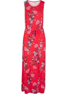 Длинные платья Платье макси в цветочек Bonprix
