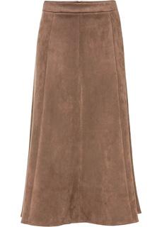 Длинные юбки Юбка замшевая Bonprix