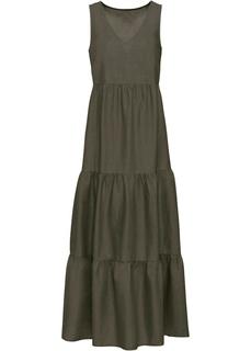 Длинные платья Платье макси изо льна Bonprix