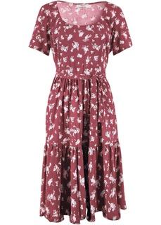 Короткие платья Платье c коротким рукавом Bonprix