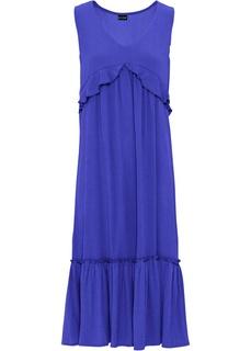 Длинные платья Платье с воланами Bonprix