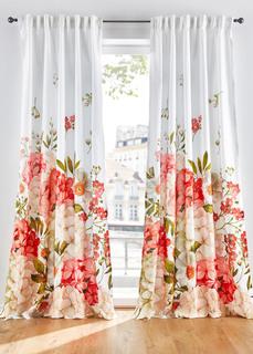 Плотные шторы Штора с цветочным принтом (1 шт.) Bonprix