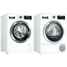 Комплект стиральной и сушильной машины Bosch WAV28HH1OE + WTX87KH1OE