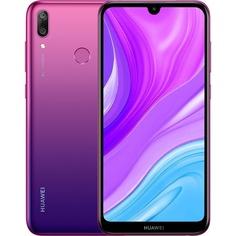 Смартфон Huawei Y7 2019 ярко-голубой