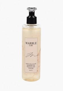 """Гель для душа Marble Lab антицеллюлитный """"Апельсин и Имбирь"""", без сульфатов, 250 мл."""