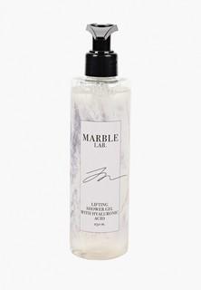 Гель для душа Marble Lab омолаживающий с гиалуроновой кислотой, без сульфатов, 250 мл.