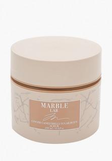 """Скраб для тела Marble Lab """"Имбирное печенье"""", антицеллюлитный, увлажняющий, 200 мл"""