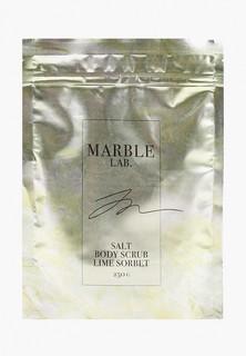 """Скраб для тела Marble Lab Скраб для тела """"Лаймовый сорбет"""", антицеллюлитный, увлажняющий , 250 г"""