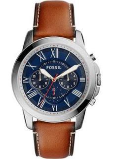 fashion наручные мужские часы Fossil FS5210. Коллекция Grant