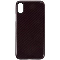 Чехол Barn&Hollis Carbon для iPhone XS High Gloss Red