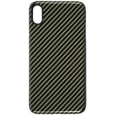 Чехол Barn&Hollis Carbon для iPhone XS Max High Gloss Green