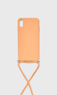 Stradivarius Чехол Для Iphone Xs Max Женская Коллекция Оранжево-Персиковый 103