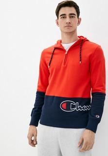 Толстовка Champion ROCHESTER1919 Half Zip Hooded Sweatshirt