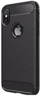 Чехол EVA для iPhone X/Xs, черный/карбон (IP8A012B-X)