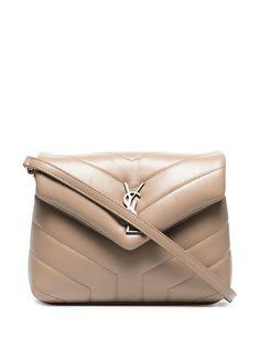Saint Laurent стеганая мини-сумка на плечо Toy Loulou