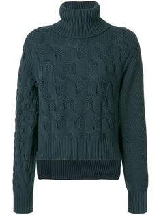 MM6 Maison Margiela вязаный свитер с косами