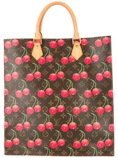 Louis Vuitton cherry Sac Plat tote