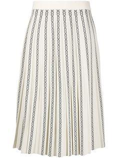 Tory Burch трикотажная юбка с узором