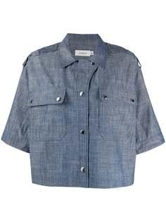 Coach джинсовая рубашка свободного кроя
