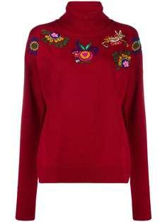 La Doublej свитер Boy с вышивкой