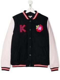 Kenzo Kids куртка-бомбер с вышивкой Japanese Dragon