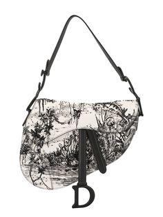 Christian Dior полукруглая сумка среднего размера