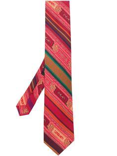 Etro галстук в полоску