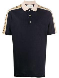 Gucci рубашка поло с логотипом
