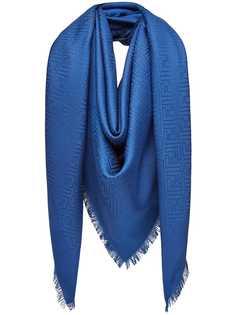 Fendi шарф с монограммным принтом