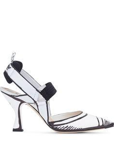 Fendi туфли Colibrì с ремешком на пятке