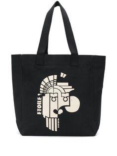 Isabel Marant сумка-тоут с графичным принтом